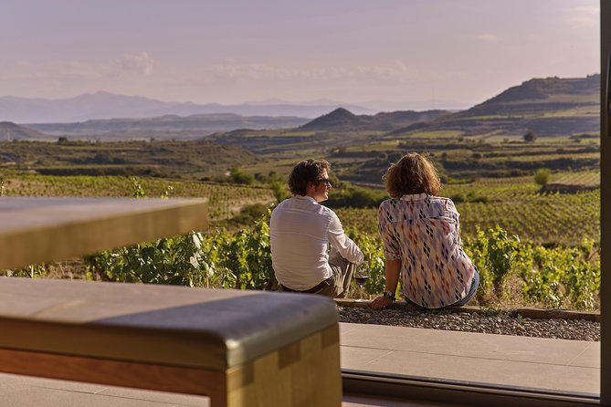 La Rioja two wineries visit with tasting and tapas in small group tour