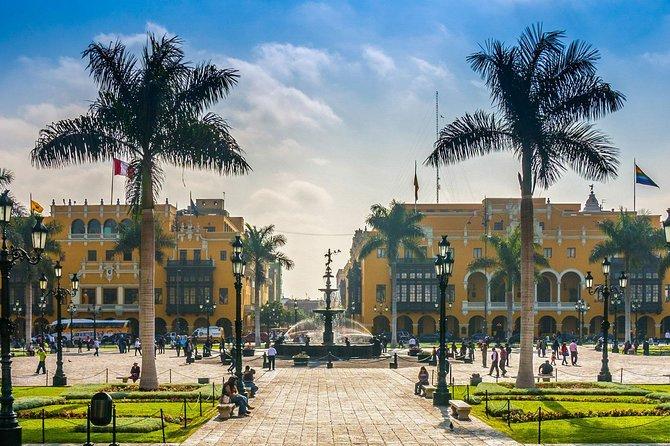 Cultural City Tour from Jorge Chavez International Airport, Lima - Peru.