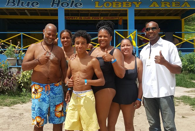 Share Blue Hole and Spa Tour from Ocho Rios