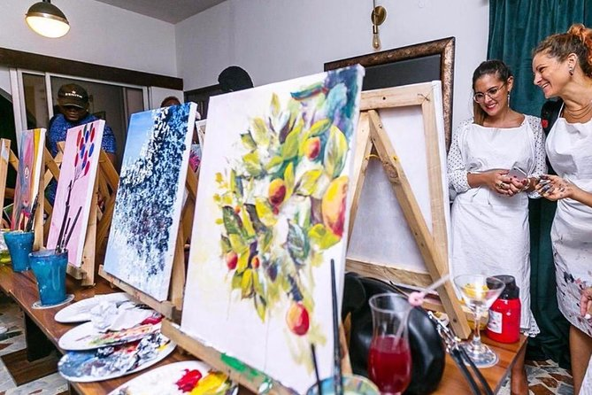 Sip & Paint at The Metaphor in Lagos photo 6