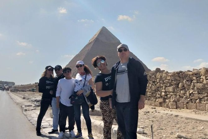 Guided Private Giza Pyramids and Cairo Tour with camel ride and Lunch