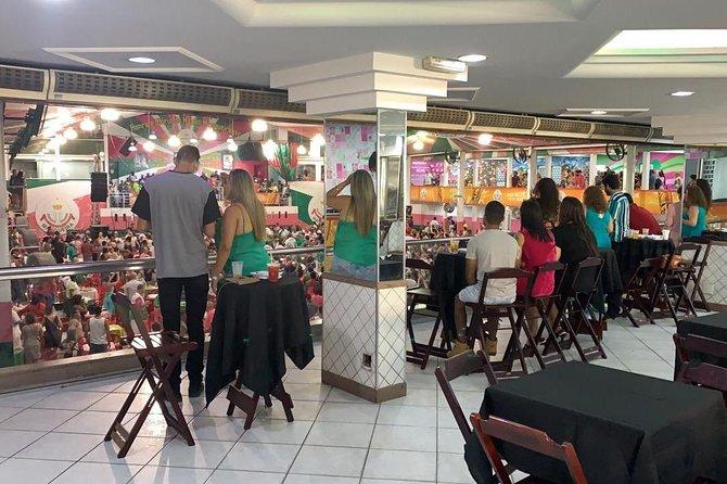 Vip Box Samba School Mangueira's first station