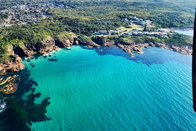 40-45 Minute Port Stephens and Stockton Beach Helicopter Flight - For 2