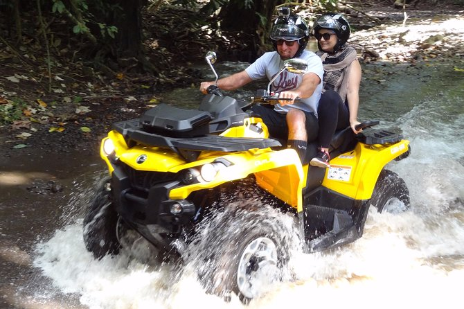 Grand Tour Quad 3h30 Quad excursion in Moorea (single or two-seater)