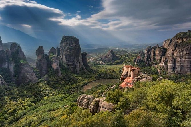 Meteora Full-day Private car trip from Athens