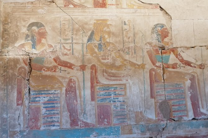 Dendera and Abydous from Hurghadad Visit the most beautiful temple in Abydous and the Greco-Roman temple in Dendera
