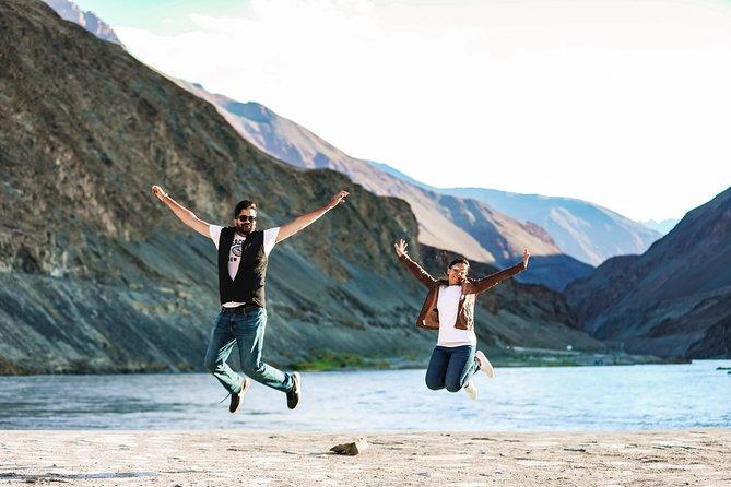 Professional Photoshoot at Pangong Lake - Ladakh