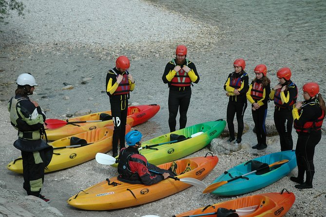 Guided Sit-on-top Kayak Trip on Soca River