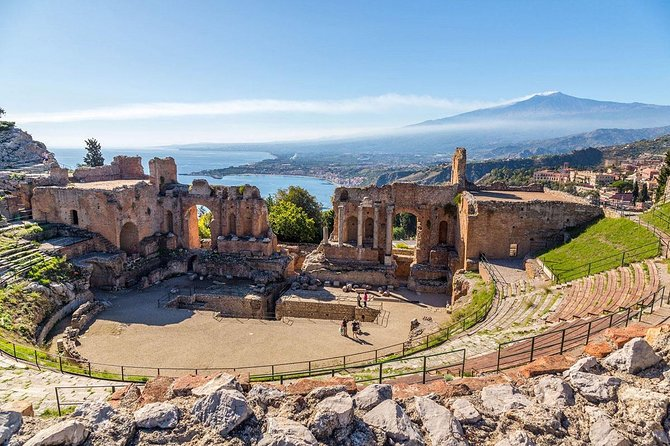 ETNA and TAORMINA departing from PALERMO, Private Tour