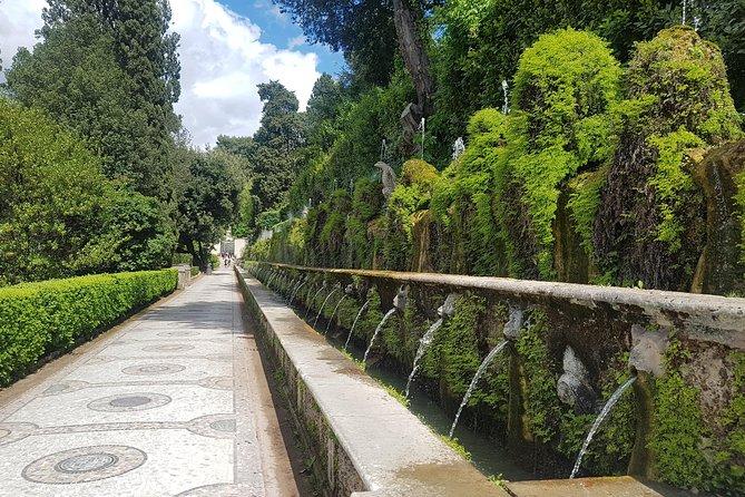 Tour to Tivoli, Villa Adriana and Villa d'Este, a full day from Rome