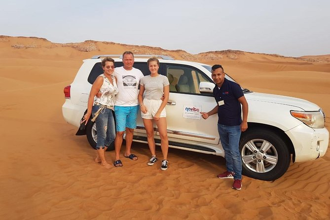 Red Dune Desert Safari with 30min ATV Quad Bike, Live Show, Camel Ride & Dinner