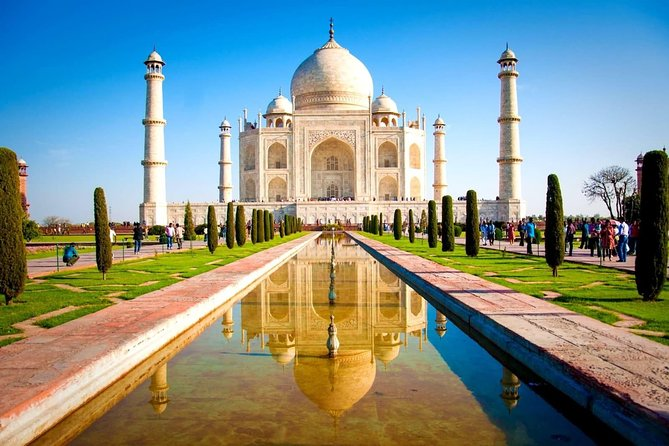 Sunrise TajMahal and Agra Fort Trip From Delhi with 5 Star Hotel Breakfast
