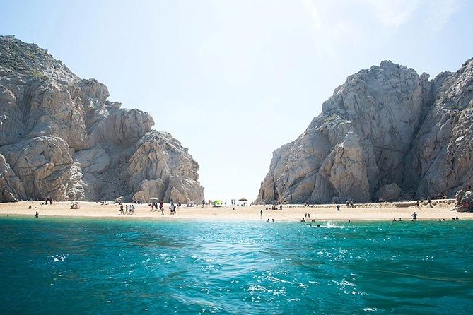 Cabo's Glass Bottom Boat Tour- Land's End, el Arch, Sea of Cortes, Both Beaches