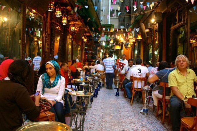 El-Moez Street and Khan Khalili Bazaar