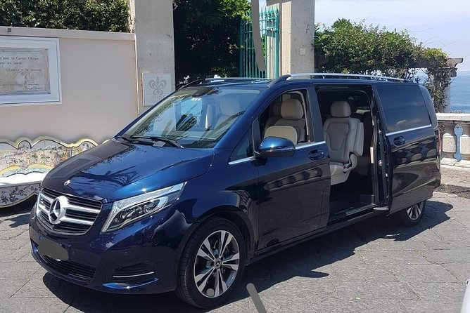 Private Transfer from Naples to Sorrento by Mercedes Minivan deLuxe