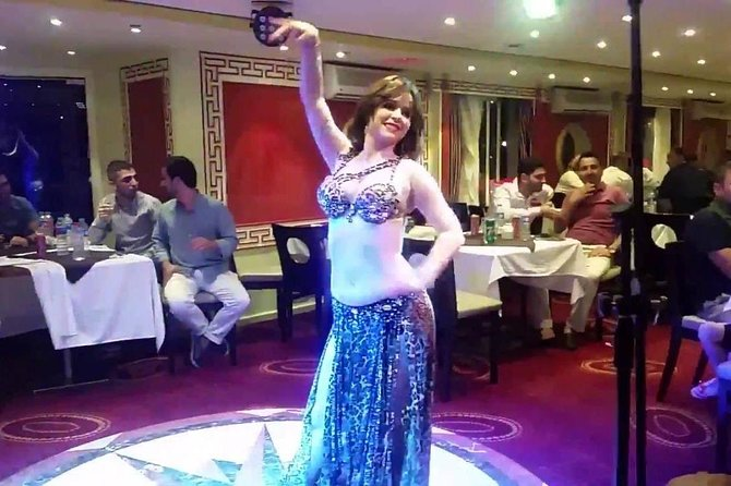 oriental night show on dinner river Nile with belly dancer