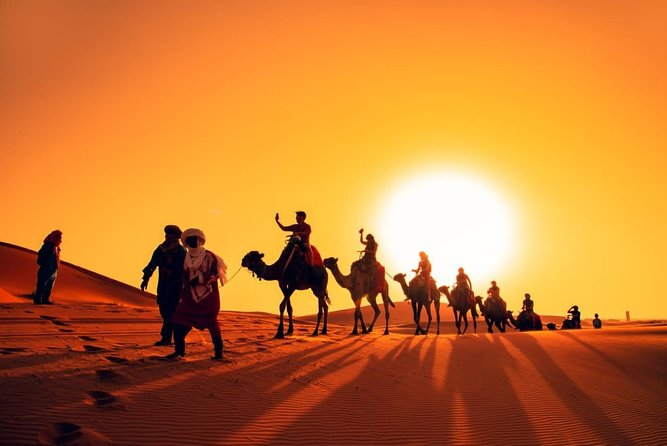 Camel trekking Erg Chebbi (2 Nights ) Merzouga – Sahara Desert photo 1