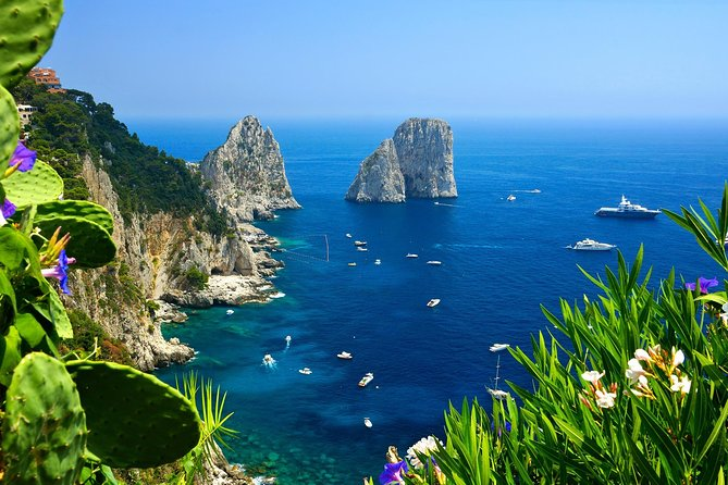 Capri Private Boat Cruise from Ravello with Hotel Pickup