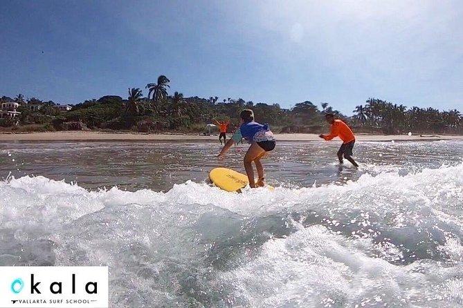Surf lessons in Puerto Vallarta and Banderas Bay