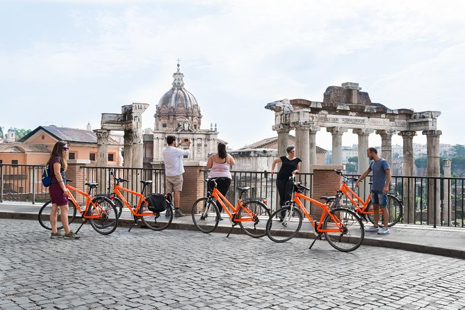 2-hour Rome Easy Bike Tour