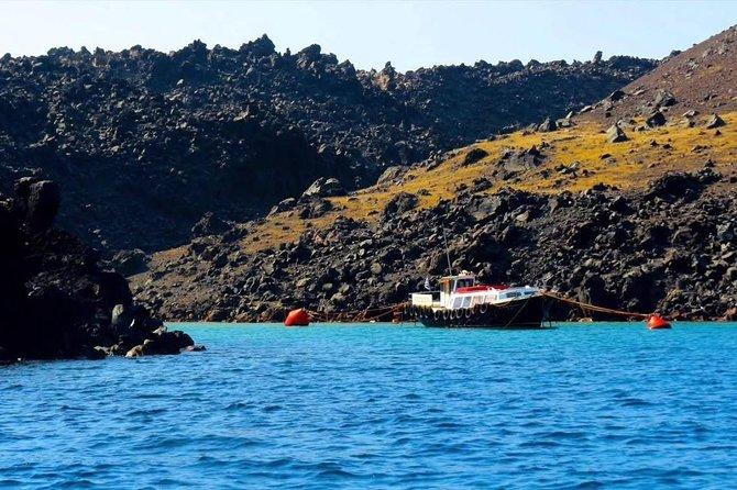 Volcano & Hot Springs Tour in Santorini Island