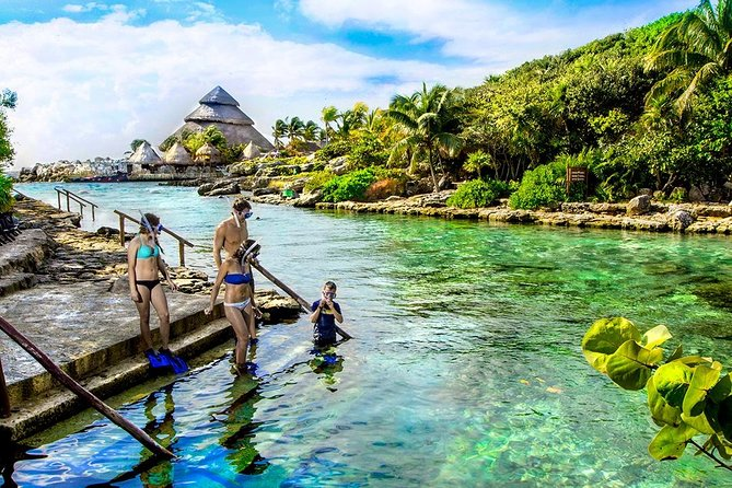 Xcaret Tour Plus With Transportation from Playa del Carmen.