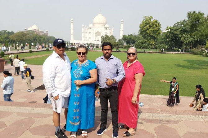 Day tour to Taj Mahal & Agra fort from Delhi,5 star hotel lunch included . photo 60