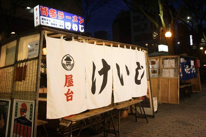 Enjoy Fukuoka night! How about making ramen at Hakata food stalls?
