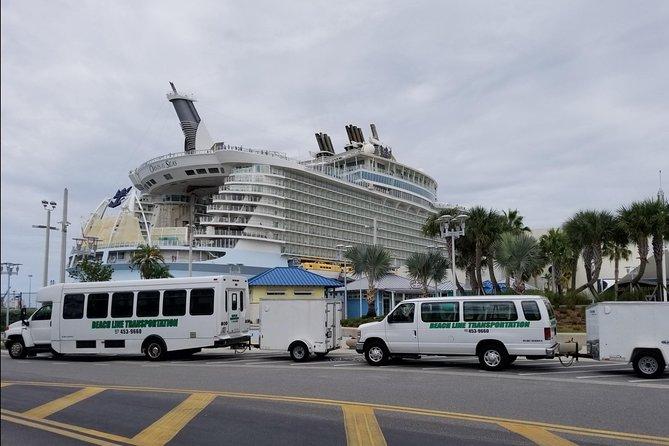 Orlando Theme Park Area to Port Canaveral/Cocoa Beach (Private Transportation)