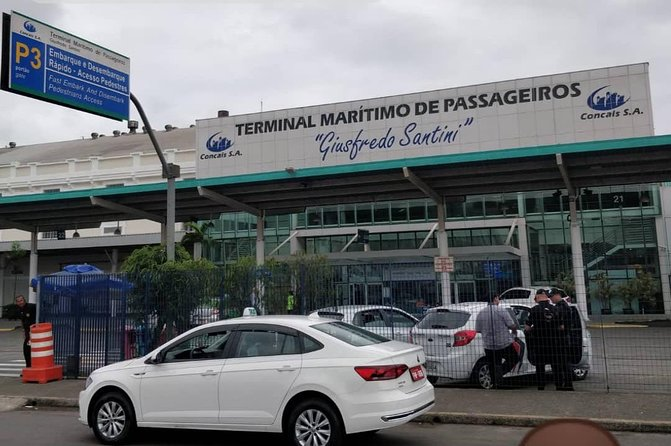 Transfer from São Paulo to Port of Santos