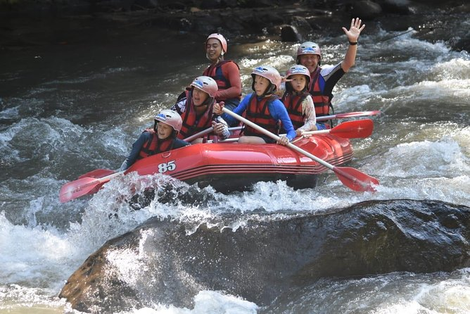 Bali fun white water rafting