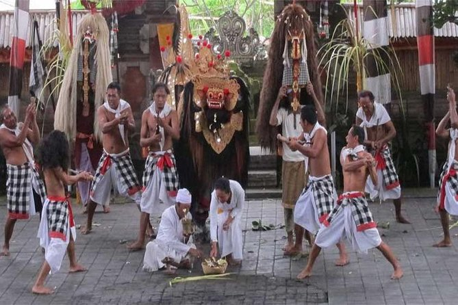 Private Tour: Barong Kris Dance, Art Village and Ubud Waterfall