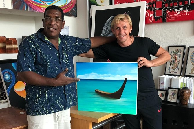 Playa Del Carmen: Your private personalized painting workshop for up to 4 people