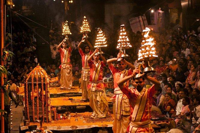 Varanasi Evening Walking Tour with Ganga Aarti