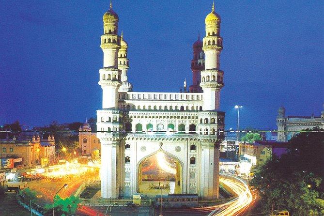 Hyderabad city tour Char Minar, Mecca Masjid, Salar Museum & Chowmahalla Palace
