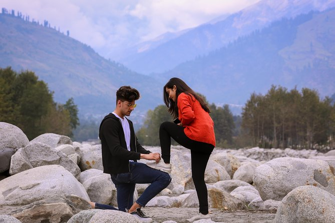 Professional Photoshoot at Beas River, Manali