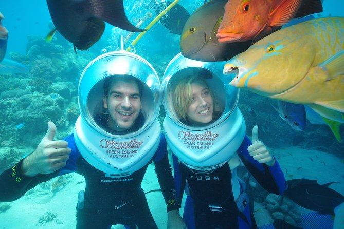 Green Island Day Trip Including Seawalker Helmet Dive COMBO