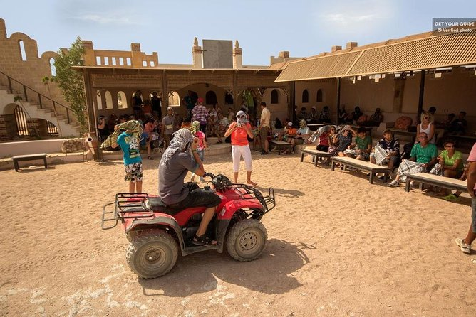 Hurghada: Desert Quad Bike Safari with Optional GoPro