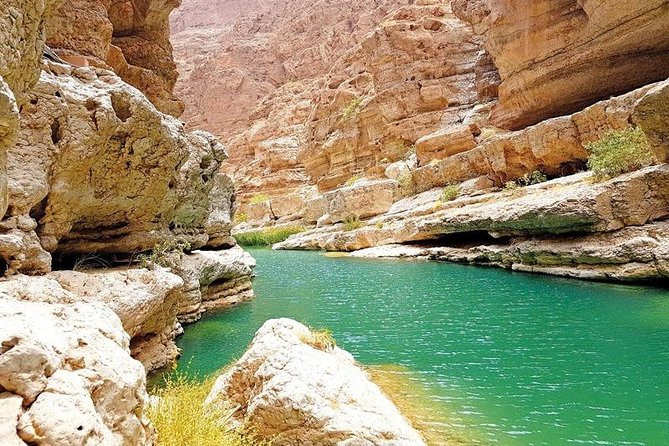 Wadi Shab & Wadi Tiwi; Fins Beach & City of Sur