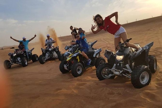 Desert Safari Dubai, BBQ Dinner, Camel Ride And Quad Bike