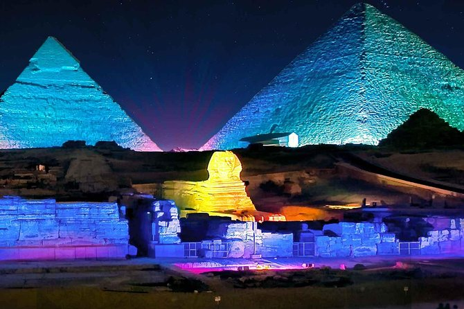 Pyramids Sound & Light Show + Fine Dining photo 1
