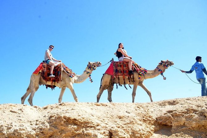 Hurghada: Desert Tour With Camel Ride and Bedouin Guide