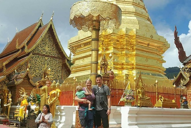 Doi Suthep Temple + Khantoke Dinner & Dance ( Private night Tour )