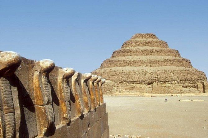 The Pyramids of Ancient Cairo- Pyramids, Memphis & Sakkara + lunch