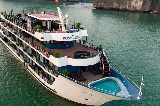 Rosy Cruise - Halong Bay and Lan Ha Bay 2 Days 1 Night