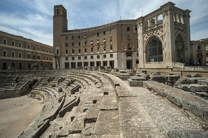 Tour with transfer from Lecce to Otranto and Gallipoli