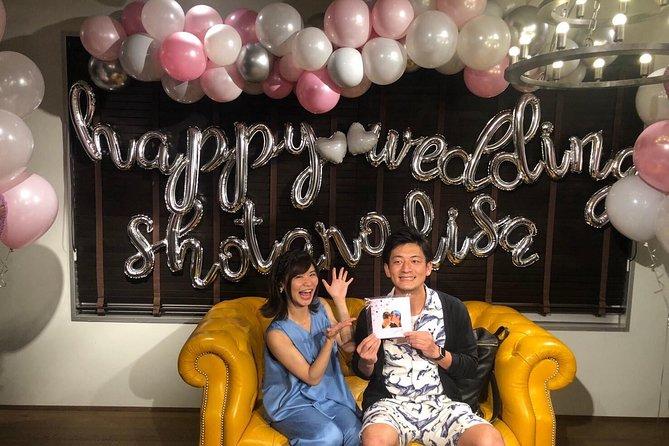 Birthday celebration surprise with balloon decoration!