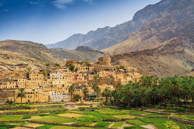 Jebel Akhdar (Rose Factory, Nizwa UNESCO Site, Ancient Villages)
