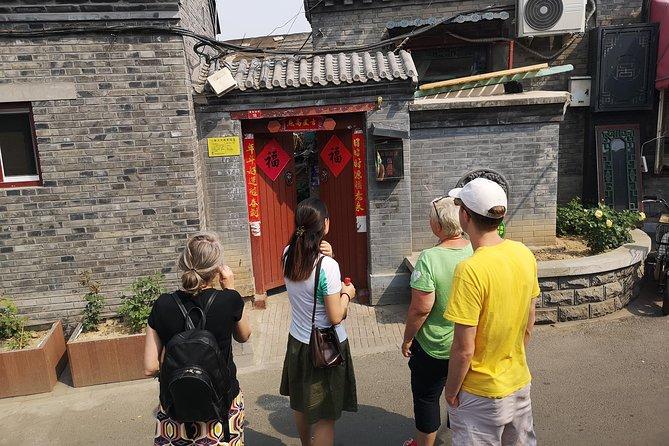With Beijinglocal walk original Hutong