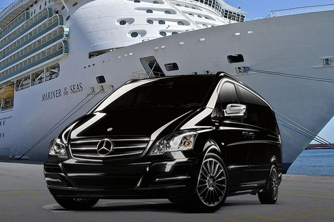 Private port transfer: from your cruise ship to FCO airport or Rome hotel